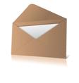 Open envelope vector image vector image