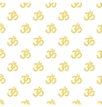 Om sign pattern cartoon style vector image