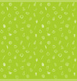 fruit and vegetable seamless pattern background vector image
