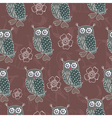 owl patterns vector image vector image