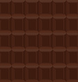 Chocolate seamless pattern texture is of vector image