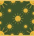 summer - sun vector image