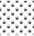 easter basket pattern vector image