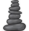 Zen stone vector image