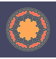 Ethnic Circle Element Orient Traditional Design vector image