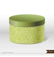 Packaging gift box on isolated background vector image vector image