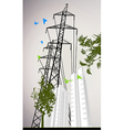 High rise building vector image