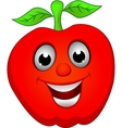 apple smile vector image vector image