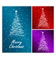 merry christmas set vector image