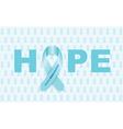 prostate cancer ribbon vector image