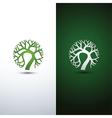 tree logo 3 vector image