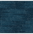 Jeans texture pattern Worn denim colorful vector image