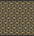 abstract art deco seamless pattern vector image