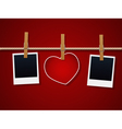 Love cards vector image