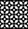 monochrome seamless pattern ornament texture vector image