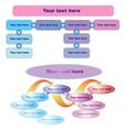 Business Work-flow vector image