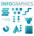infographics design elements for business vector image