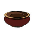 clay pot isolated vector image
