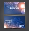 creative business template design vector image