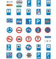 Road signage vector image