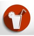 juice glass vector image