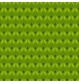 Abstract green leaves seamless pattern vector image