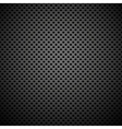 Seamless Circle Perforated Carbon Grill Texture vector image vector image