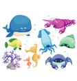 Sea Animal vector image vector image