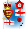 English Collection vector image