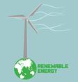 Renewable energy vector image