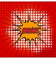 Bang Comic Speech Bubble vector image