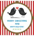 Christmas greeting card48 vector image