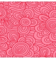 Seamless floral pattern For easy making vector image