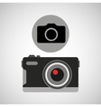 retro camera photographic photo sign vector image