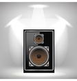 Musical Speaker Icon vector image