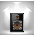 Musical Speaker Icon vector image