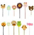 Lollipop doodle vector image