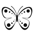 wild butterfly icon simple style vector image