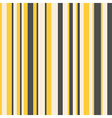Striped pattern in yellow and dark grey vector image