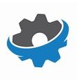 Gear logo design Technology symbol or icon vector image