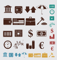 finance set vector image vector image