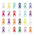ribbon sets vector image