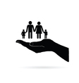 family icon design vector image