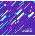 Abstract randomly lined colorful background vector image vector image