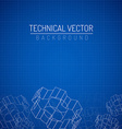 Cogwheels linear graphic vector image vector image
