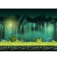 horizontal seamless of forest vector image