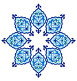 artistic ottoman pattern series fiveteen vector image
