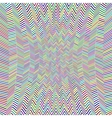 Abstract Zig Zag Pattern vector image