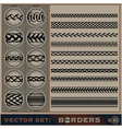 Boarder Set vector image