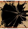 Grunge Explosion Background vector image